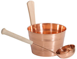 CopperBucket and ladle